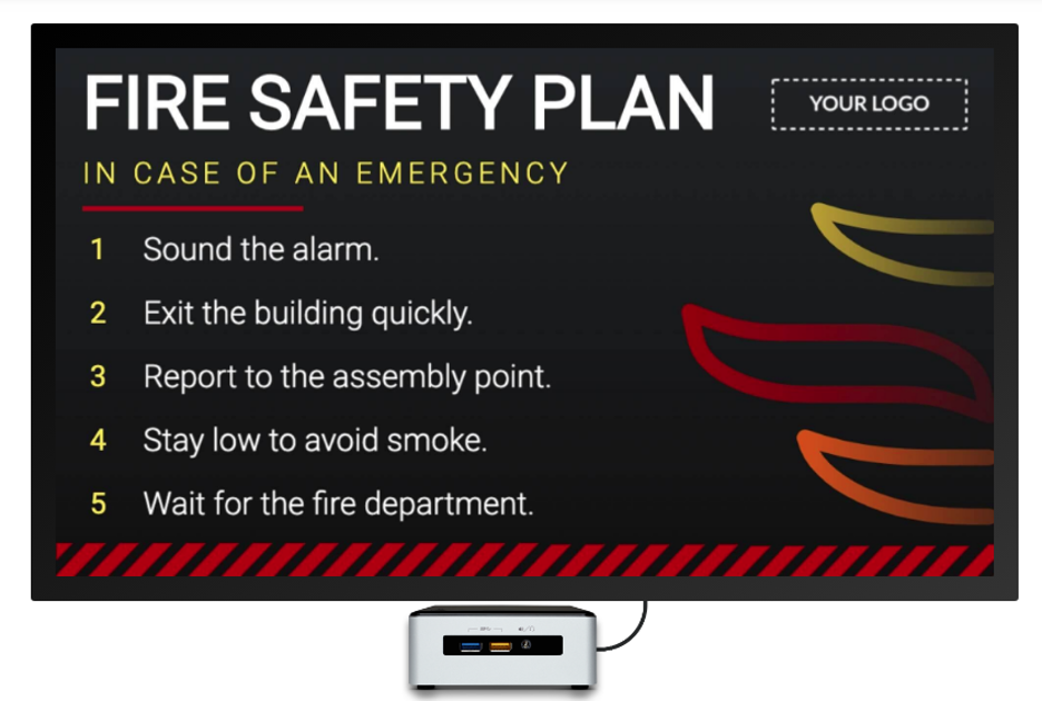 fire-safety-digital-signage