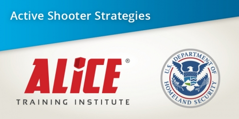 Active Shooter Strategy ALICE Run Hide Fight