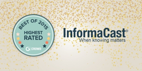 Emergency notification software, InformaCast receives two awards