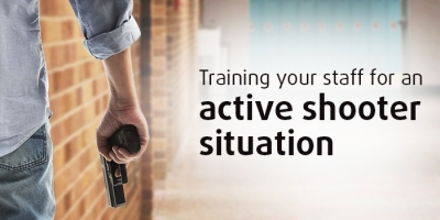 prepare emergency notification for active shooter scenarios