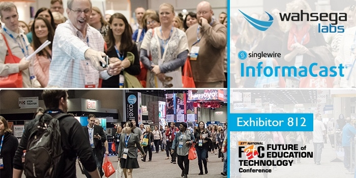 FETC conference K-12 technology exhibitor