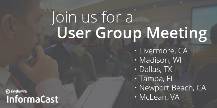 informacast-mass-notification-user-group-meeting