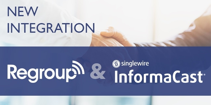 Regroup and Singlewire notification solution