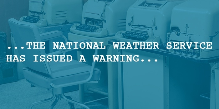 national weather service automated weather alerts