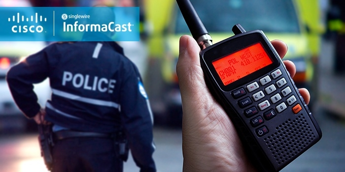 communicate emergencies directly with police