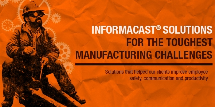 white paper for manufacturing emergency notification