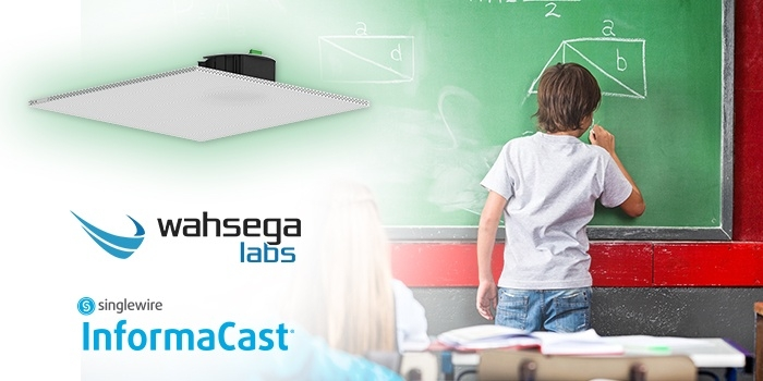 Wahsega mass communication speakers in K12 schools